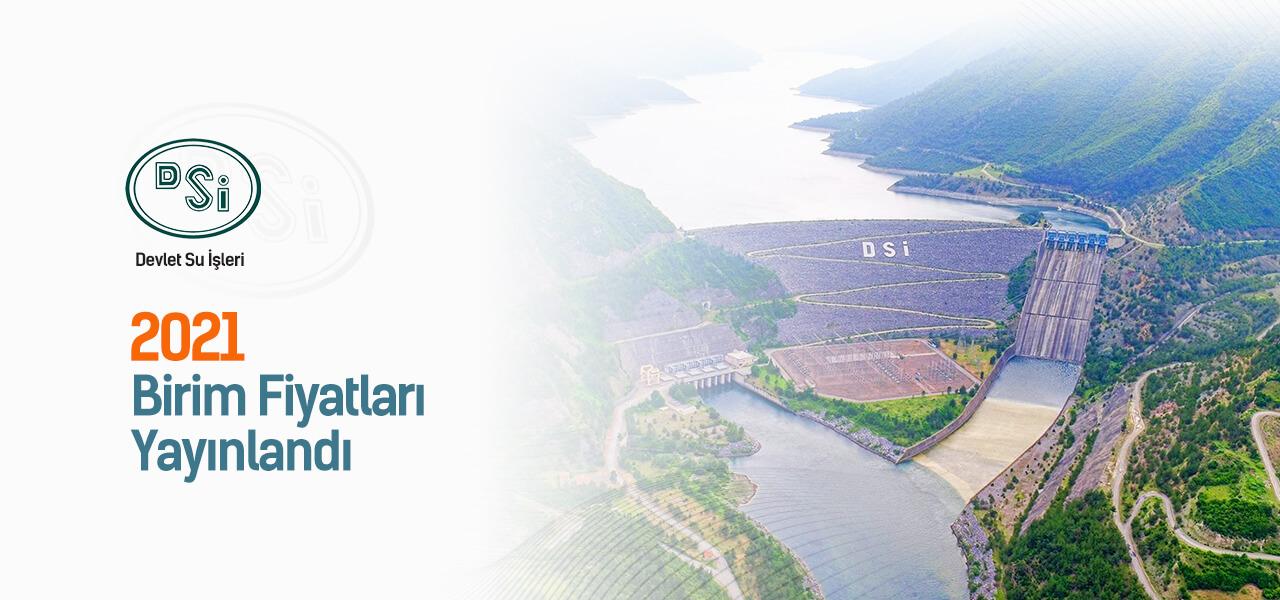 DSİ - Devlet Su İşleri Birim Fiyatları Yayınlandı ve AMP'de kullanıma hazır!