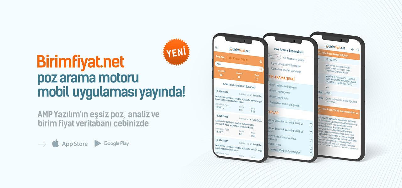 Birimfiyat.net Android ve İOS uygulaması yayında