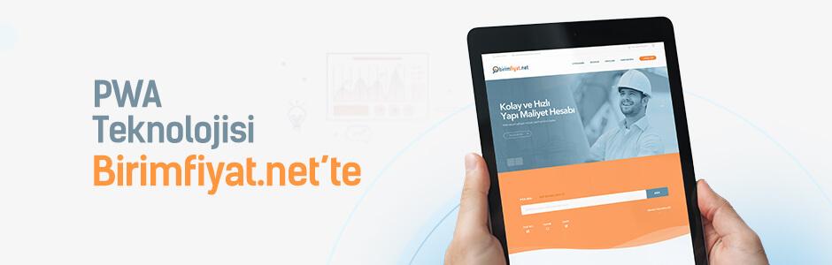 Birimfiyat.net' i Mobil Cihazlarda Uygulama Gibi Kullanın
